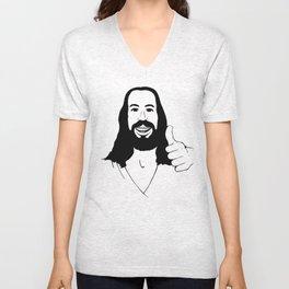 Jesus Ain't Mad At Ya Unisex V-Neck