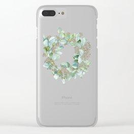 Eucalyptus 2 Clear iPhone Case