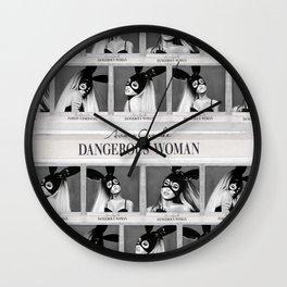 Dangerous Woman Drawings Design Pattern Wall Clock