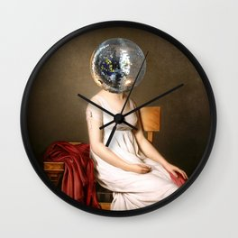 Discohead Wall Clock