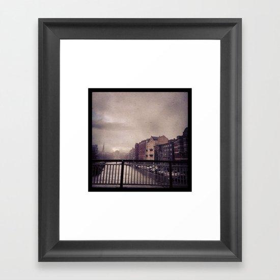 Stille Framed Art Print