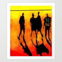 Nothing much. Art Print