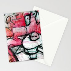 breaking the house Stationery Cards