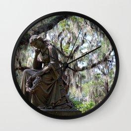 Lady Under the Oaks Wall Clock