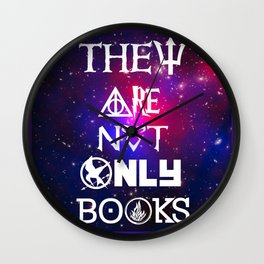 Not only Books Wall Clock