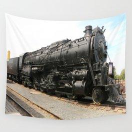 Steam Locomotive Number 5021 Sacramento Wall Tapestry