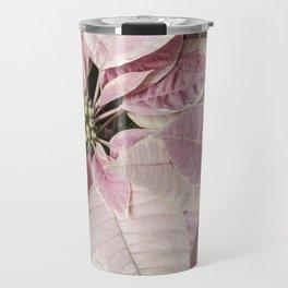 Christmas Royal Poinsettia Travel Mug