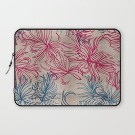 Pink and blue blades Laptop Sleeve
