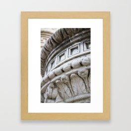 round & round. Framed Art Print