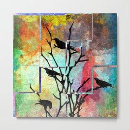 The Crows Metal Print