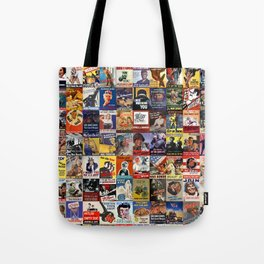 WWII Posters Tote Bag