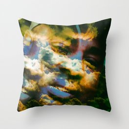 """Daydreaming"" Throw Pillow"