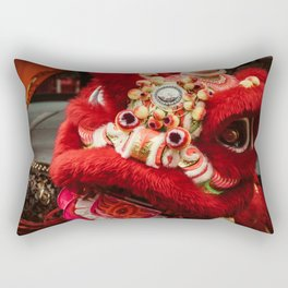Red Lion Rectangular Pillow