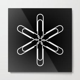 Clip Art: Asterisk / Snowflake Metal Print