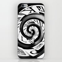 typo iPhone & iPod Skins featuring Typo by EDDIE V PHOTO