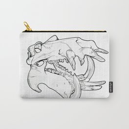 Hippo - Pen & Ink Carry-All Pouch