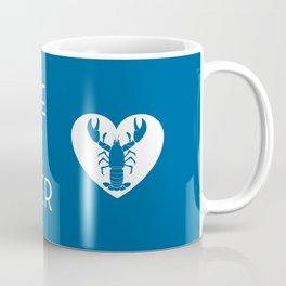 You're My Lobster - Deep Blue Coffee Mug