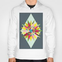 pantone Hoodies featuring Pantone Mandala by Brandon Harmon Design