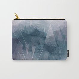 Ameythist Crystal Inspired Modern Abstract Carry-All Pouch