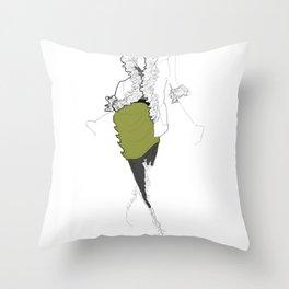 La Mode 2 Throw Pillow