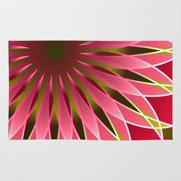 Pretty in pink mandala Rug