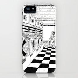 Coffee & Laundry iPhone Case