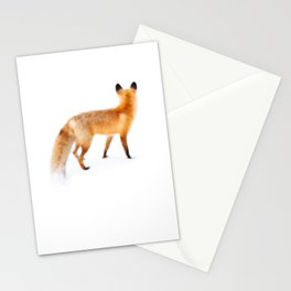 Fox in Snow Stationery Cards