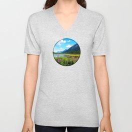 God's Country - Summer in Alaska Unisex V-Neck