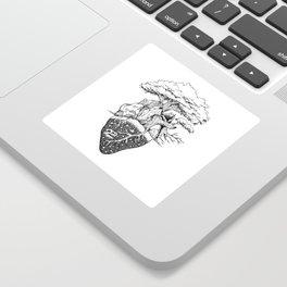 Nature Lover's Heart Sticker