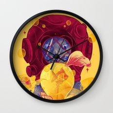 La Lumiere (Yellow) Wall Clock