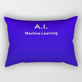 A.I. Machine Learning Rectangular Pillow