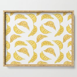 Dim sum pattern // Dumplings pattern // Asian food pattern // Dumpling decor Serving Tray