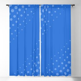 Darling, It's Me (blue/blue) Blackout Curtain