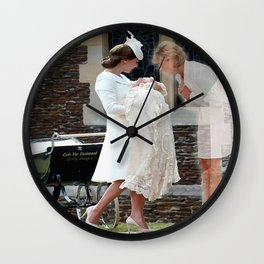 Princess Diana - Heavenly Heels  Wall Clock