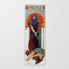 Alfons Mucha - Medea Canvas Print