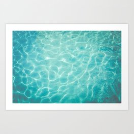 Palm Springs Summer Art Print
