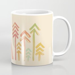 Tepee in the forest Coffee Mug