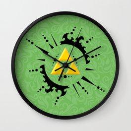 Triforce Zelda Wall Clock