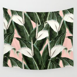 Sweet floral Pothos Wall Tapestry