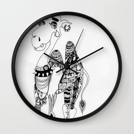 Camille the Capricious Camel Wall Clock
