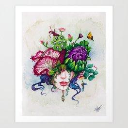 Cabezarium I Art Print