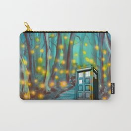 Tardis in the Glow Carry-All Pouch