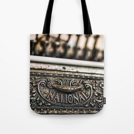 National Cash Tote Bag