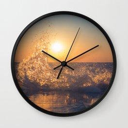 Say Goodbye Wall Clock