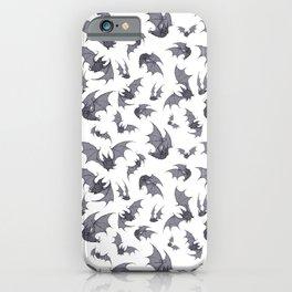Bats White iPhone Case