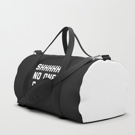 No One Cares Funny Quote Duffle Bag