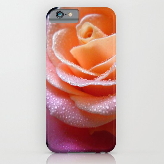 Rose Macro. On Front Page. iPhone & iPod Case