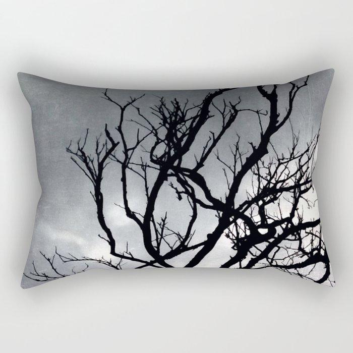 Old tree Rectangular Pillow