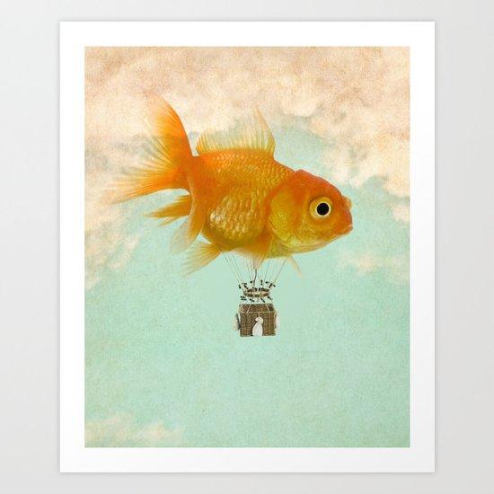 balloon fish 03 Art Print