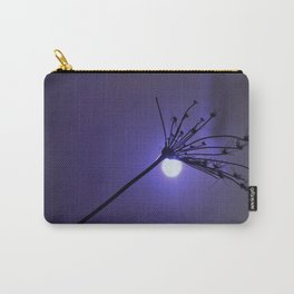 Silhouette On Blue Carry-All Pouch